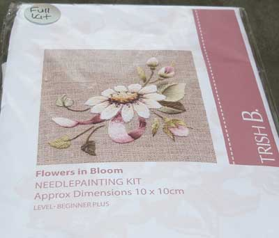 Trish Burr Embroidery Kit: Flowers in Bloom