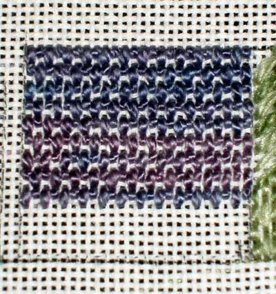 Needlepoint Sampler in the works