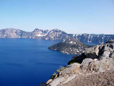 Crater Lake Scenery