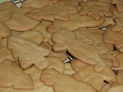 Christmas Cookies in lieu of Needlework