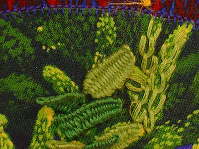 Aquatic Sampler in Applique and Embroidery