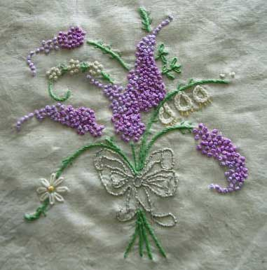 EMBROIDERY FRENCH KNOT STITCH « EMBROIDERY & ORIGAMI