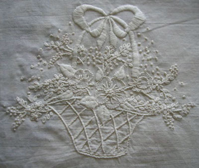 Reader's Embroidery Work: An Embroidered Quilt