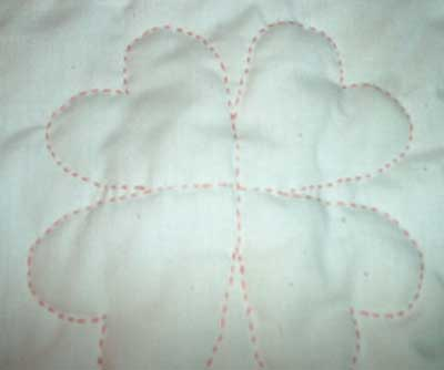 Reader's Embroidery: Hand Embroidered Quilt Hearts