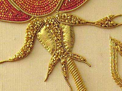 Reader's Embroidery: Goldwork Rose
