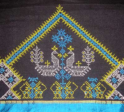 Indian Embroidery Kasuthi U2013 NeedlenThread.com