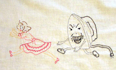 Reader's Embroidery: Mad Iron Chasing Girl