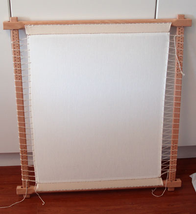 Slate Frame used for Hand Embroidery, Goldwork, and Other Embroidery Techniques