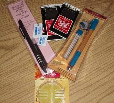 Bohn Ceramic Pencil for Transferring Embroidery Designs, Sewing, and Quilting
