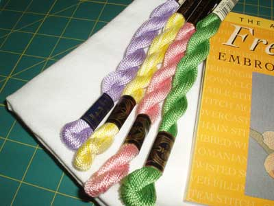 July Embroidery Stash Giveaway - Fun and Simple threads and a book