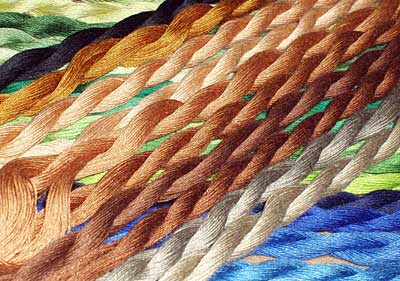 Cotton Floche for Hand Embroidery