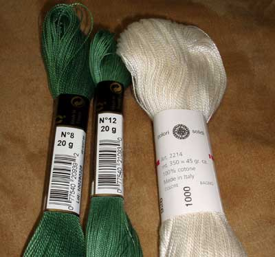 DMC and Anchor Threads from Italy