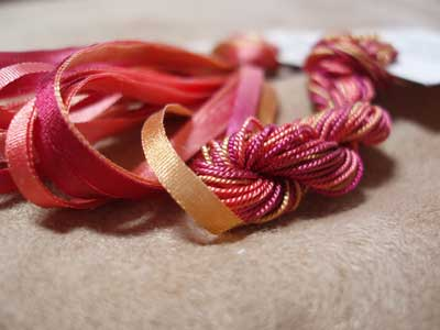 Treenway Silks for Hand Embroidery - Hand Dyed Silk Ribbon and Embroidery thread