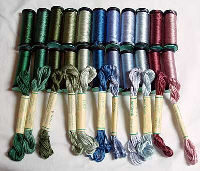 Three Types Of Silk For Hand Embroidery Needlenthread Com