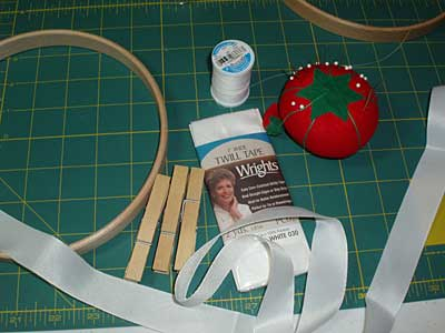 How to Bind a Hand Embroidery Hoop