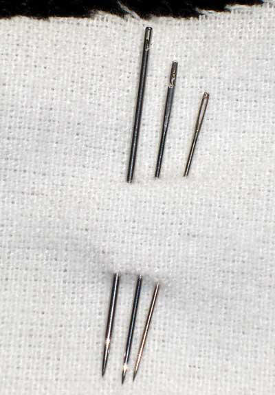 Spiral Eye Needles