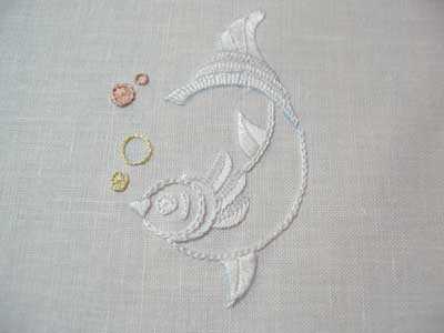 Using Watercolor Pencils to Transfer Embroidery Designs