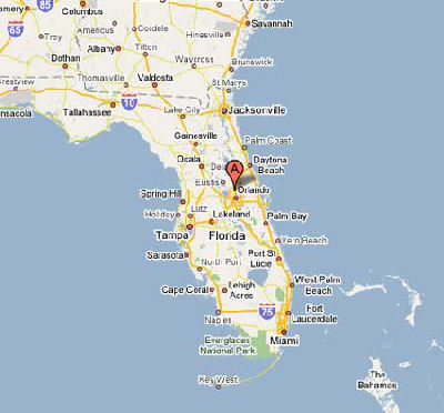 Florida needlework shop map - Needle Orts in Altamonte Springs