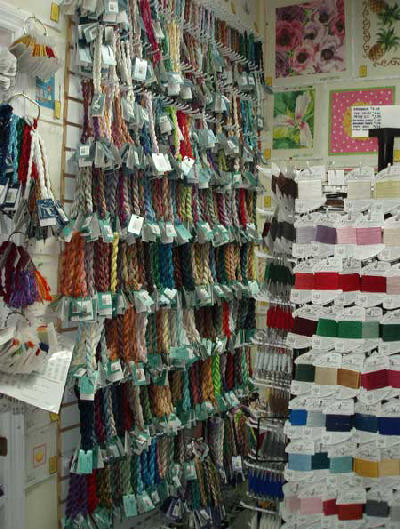 Needlework Shop: It's a Stitch of Charleston