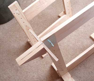 Trestles for Slate Frames for Hand Embroidery