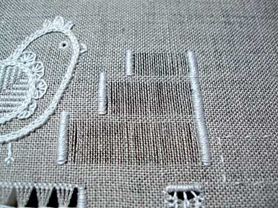 Drawn Thread Embroidery: the Diamond Stitch
