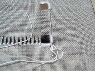 Hemstitch in Drawn Thread Embroidery
