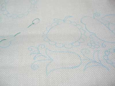 Schwalm Whitework Embroidery Tea Cloth