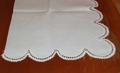 Vintage Linen that I'm considering embroidering