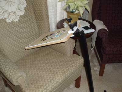Needlework System 4 Embroidery Floor Stand