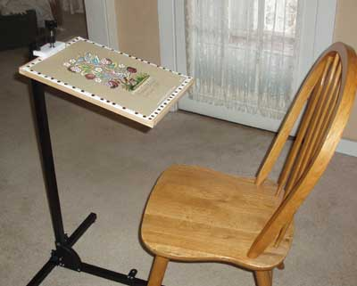 Ergo Floor Stand Artisan Designs : Embroidery stands u videos reviews u needlenthread