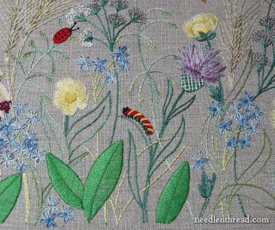 Breath of Spring Embroidery Project from Inspirations Magazine