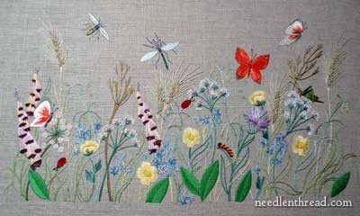 breath of spring embroidered garden - Embroidery Garden
