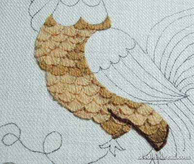 Crewel Work Embroidery: Rooster