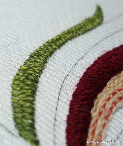 Crewel Embroidery: Rooster Project