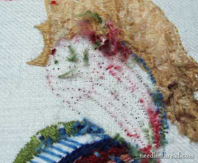 Crewel Embroidery Rooster