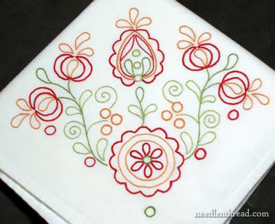 Hand Embroidery for the Home: Embroidered Towel