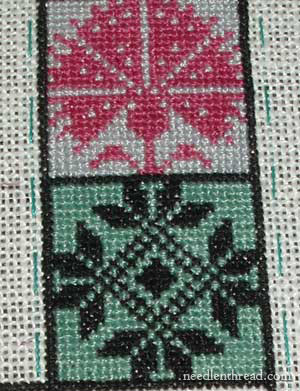 Long Dog Sampler: Stitching in 15-minute increments