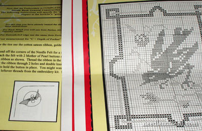 Germaine Needlebook Kit: French Maid Needlebook Series