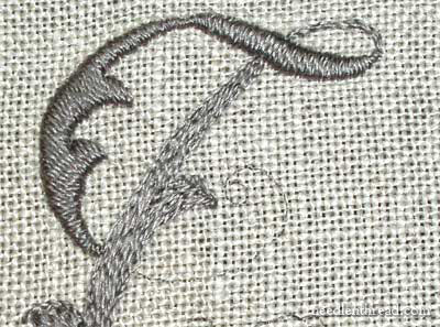 Hand Embroidery on a Needlebook