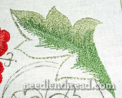 Silk Work Embroidery Sampler