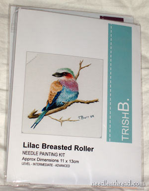 Needle Painting: Lilac Breasted Roller by Trish Burr