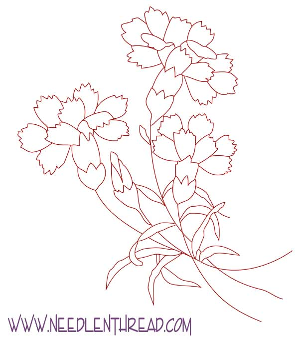 FREE SILK RIBBON EMBROIDERY PATTERNS « EMBROIDERY & ORIGAMI