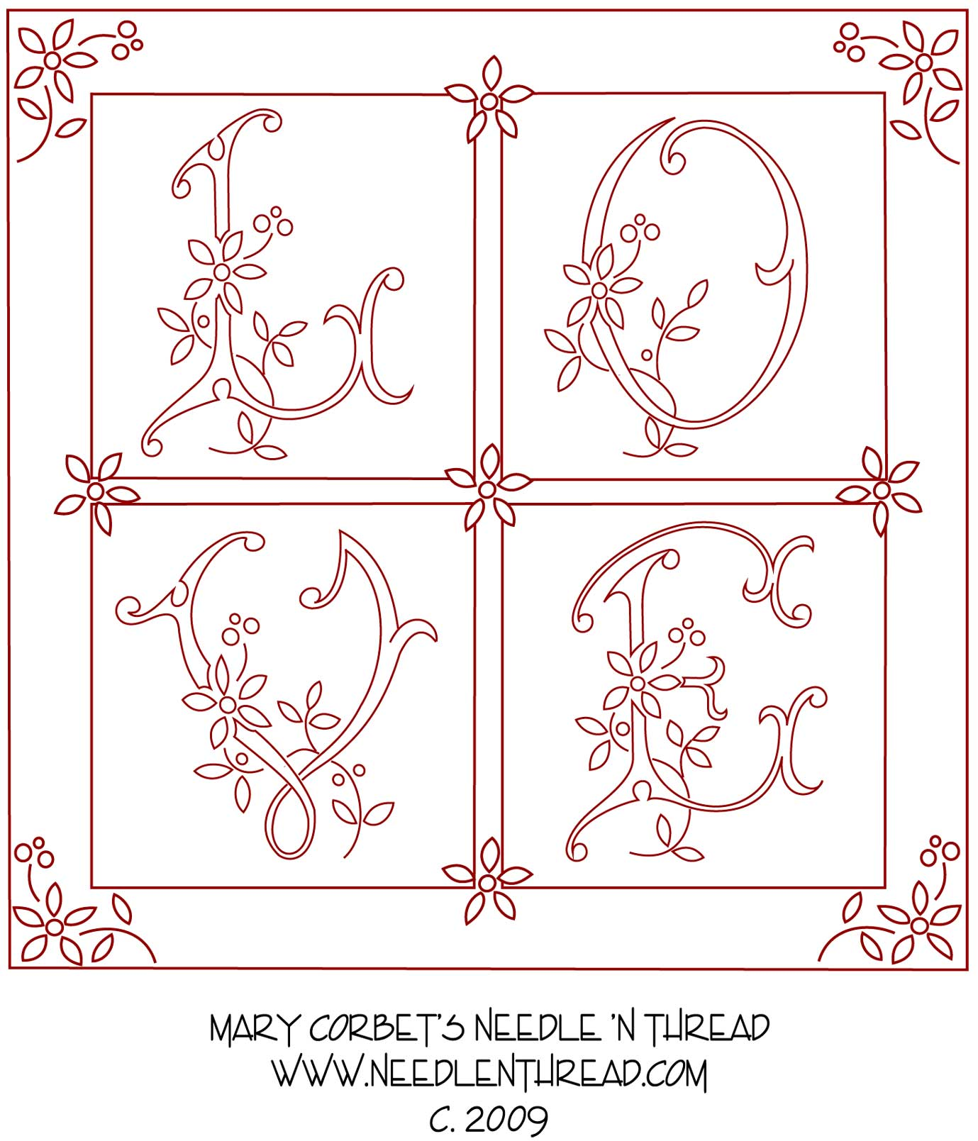Embroidery Patterns Free Simple Decoration