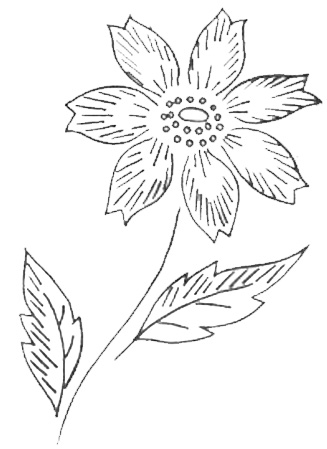 Free Flower Picture on Of Online Embroidery Patterns  Visit My Free Embroidery Pattern Index
