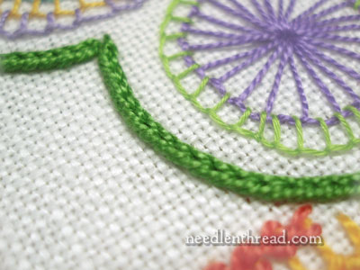 Heavy Chain Stitch