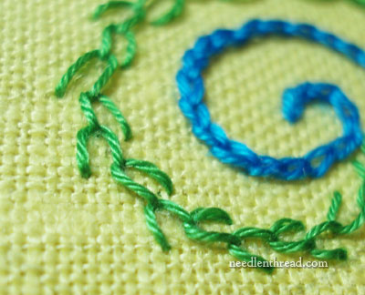 Feather Stitch Video Tutorial
