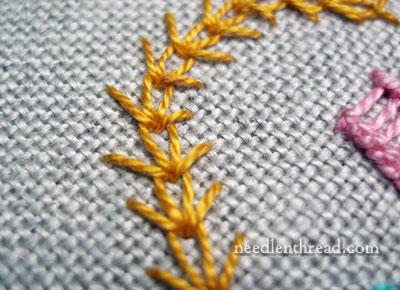 Wheatear or Wheat Stitch