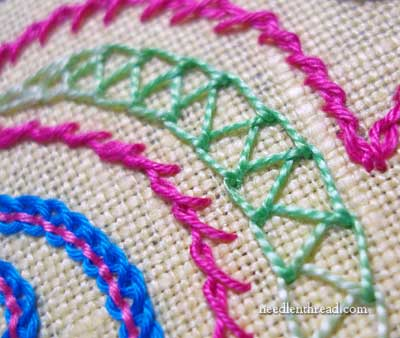 Double Chain Stitch Video Tutorial