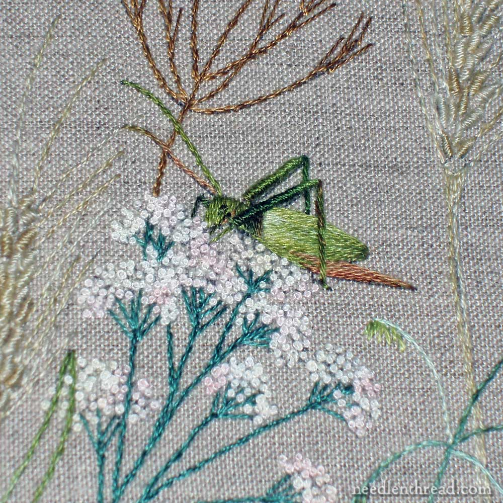 Breath of Spring Embroidered Garden from Inspirations Magazine