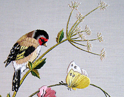 Reader's Embroidery: Spring